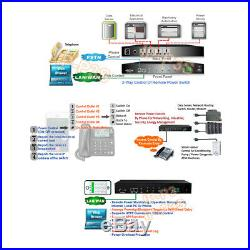 4-Port Remote PDU Power Switch Web-Based Control Or Land Line Control