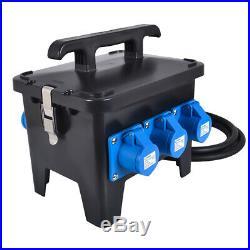 63A-32A Portable Distribution Board, Power Box, Stage, Event Distro, Splitter