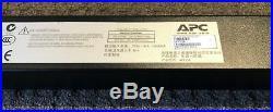 APC AP7554 Zero U PDU 12 month RTB warranty