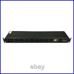 APC AP7821 208V 16A Metered Rack PDU