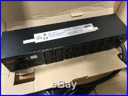 APC AP7822 Metered Rack PDU 32A Commando with Brackets and Cable 1