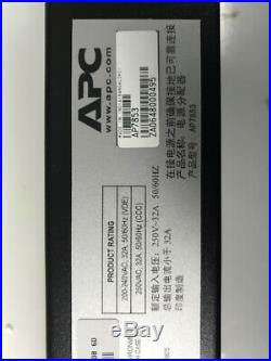 APC AP7853 Metered Rack Power Distribution Unit PDU 32A 230V 20xC13 4xC19