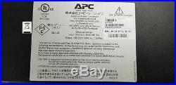 APC AP7900 Rack PDU Switched Power Distribution Unit 1U 12A 120V 8 Outlets Power