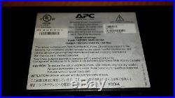 APC AP7901 120V, 20A 8-Outlet Switched Rack PDU 1U Power Distribution unit