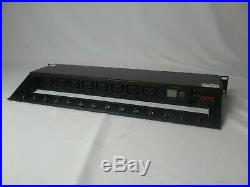 APC AP7920 Rack PDU, Switched, 1U, 10A/230V, (8)C13