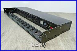 APC AP7920 Rack PDU, Switched, 1U, 10A/230V, (8)C13 With cable management + ears