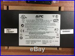APC AP7920 Rack PDU Switched 1U 10A 8xC13 Factory Reset / Updated Firmware