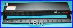 APC AP7921 16A Amp Switched Power Distribution Unit PDU 19 1U Rack Mount C19