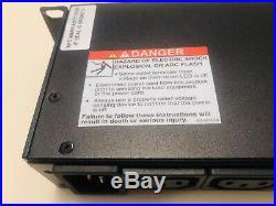 APC AP7921 250v 16A Amp Switched Power Distribution Unit PDU