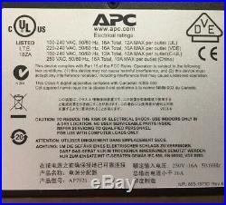 APC AP7921 Rack PDU