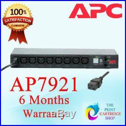 APC AP7921 Switched PDU 1ph 16A IEC320 6 Months Warranty