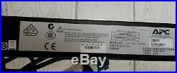 APC AP7954 Rack ZeroU Switched PDU Power Distribution Unit 16A 230V 21xC13 3xC19