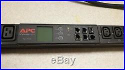 APC AP8953 Gen 2 PDU ZeroU 230V 32A Vertical rack mounts 21x C13 + 3x C19