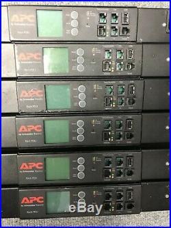 APC AP8959EU3 Smart Switched Rack PDU, Zero U, 16A 230V