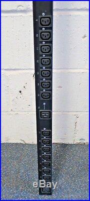 APC AP8959 Smart Switched Rack Power Strip PDU 2G, ZeroU 16A 230V 21x C13 3x C19