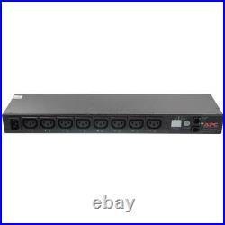 APC Power Distribution Unit Switched Rack PDU 8x C13 10A AP7920