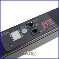 APC Rack PDU, Metered, ZeroU, 16A, 230V, (20)C13 & (4)C19 IEC C20 AP7852