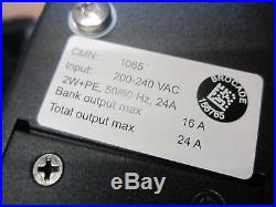 AVOCENT PM3000 24-Outlets Power Distribution Unit 200-240 VAC 520-507-521