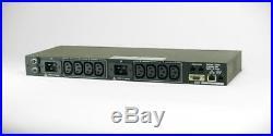 Dataprobe iBootBar iBB-2C20 Network Managed PDU 2x IEC 20A Web Telnet SNMP MODEM
