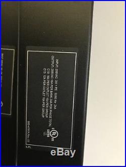 Dell APC Metered Rack PDU K536N 6808 3 Phase 208V L15-30P 21x C13 6x C19 3ph
