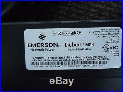 EMERSON LIEBERT MPH-NCV27NOXF30 Managed PDU 27 Outlets