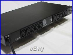 Furman PM-8E II Power Conditioner with Voltage Current Meters Studio 1U Distro