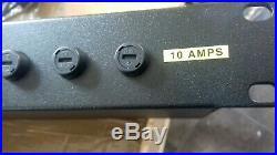Geist 12 Way 19 1U Horizontal Rack Mount C13 Sockets & Manual Management PDU