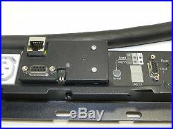 HP S1140 & AF400A Rack PDU 373803-001 Metered 208V 40A CS8265 36xC13 3xC19