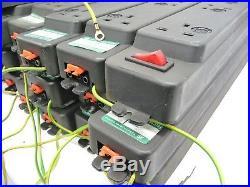 Job Lot 36 x 6 Way PDU UK Plug Mains Socket 3-Pin Flat Jack Connectors inc. VAT