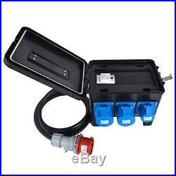 NEW Portable Distribution Board, Power Box, Stage, Event Distro, Splitter63A-32A