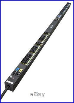 New Eaton Eswb03 Power Distribution Unit (Pdu) 0U Black 16 Ac Outlet(S) ESWB03