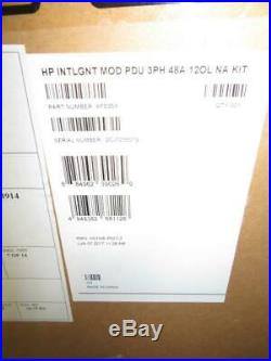 New HP AF535A 3Ph 17.3kVA 208V 48A 12-Outlet Intelligent Modular PDU