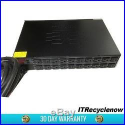 Raritan DPCR20-20L Horizontal PDU L5-20P 20x 5-15R Outlets 120VAC 16A 2U
