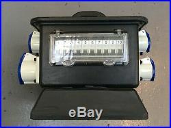 Rubber Box RUB2701 63A Single-Phase Mains Power Distribution Unit/ Distro