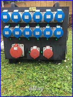 Rubber Distro Event Power Distribution Box