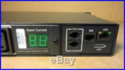 SERVER TECH Switched POPS CWG-8H2/E 3.3kW 7.3kW (8) C13 outlets PDU
