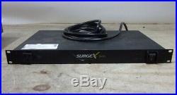 SURGEX SX-1115 Type 3 SPD 9-OUTLET Surge Eliminator Power Conditioner 120V 15A
