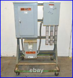 Siemens 15-kVA 1-Ph 120/240V Power Distribution Unit Industrial Temporary 200A 1