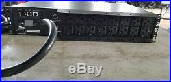 Tripp Lite PDUMH30NET PDU Switched 120V 30A 5-15/20R 16 Outlet L5-30P Horizontal