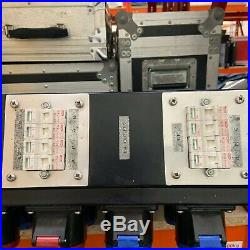 Used 32A 3Phase Distribution Board Power Box Event Mains Distro 240V Splitter
