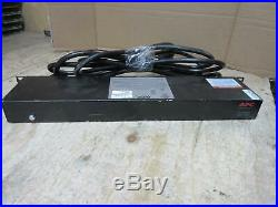 Used APC Switched Rack PDU AP7901B power distribution unit